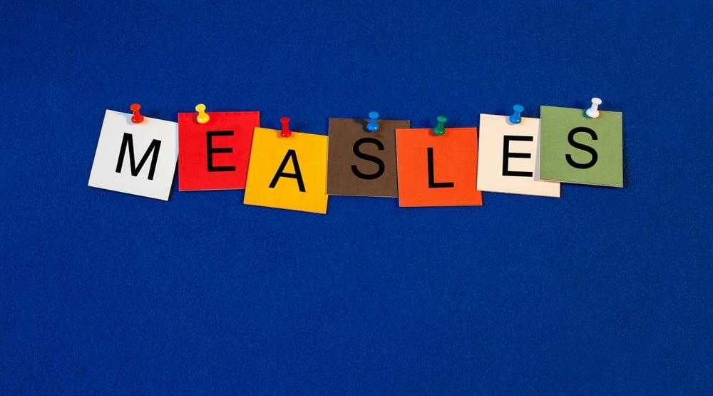 measles banner