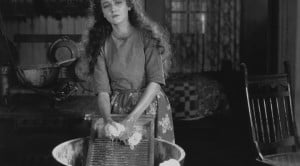 vintage washerwoman