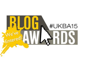 UK Blog Awards 2015 logo