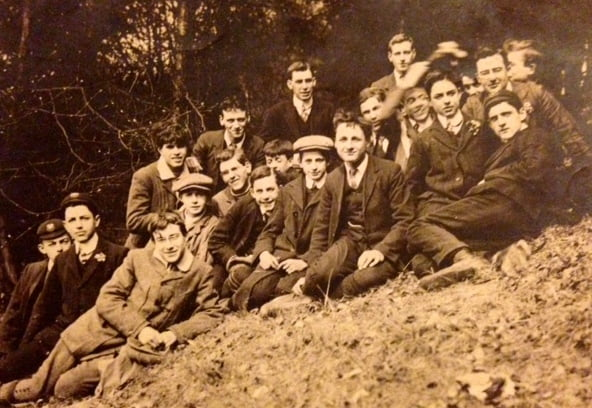 boys outing in 1912