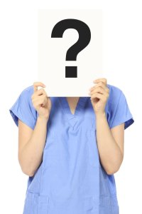questioning nurse