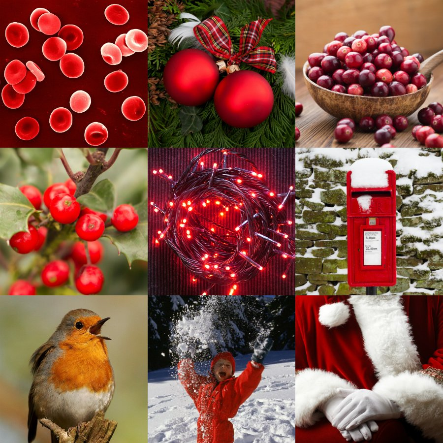 red christmas images