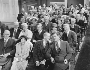 vintage theatre audience