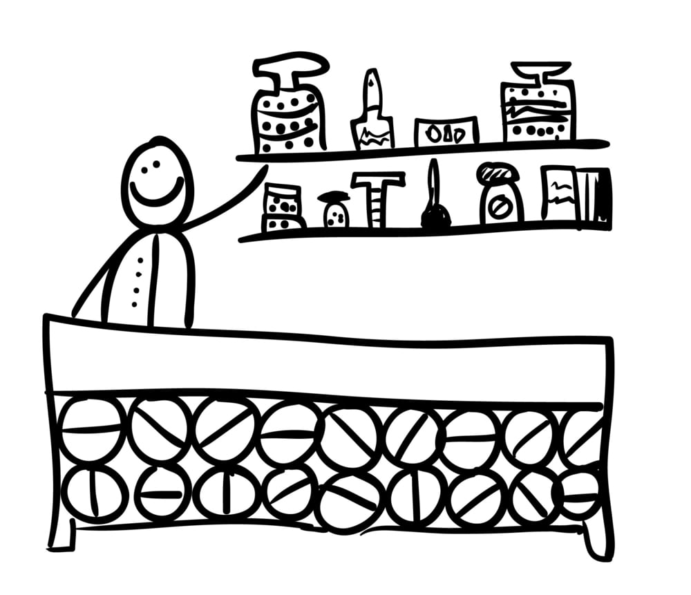 pharmacist cartoon