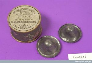 Nipple shields and box