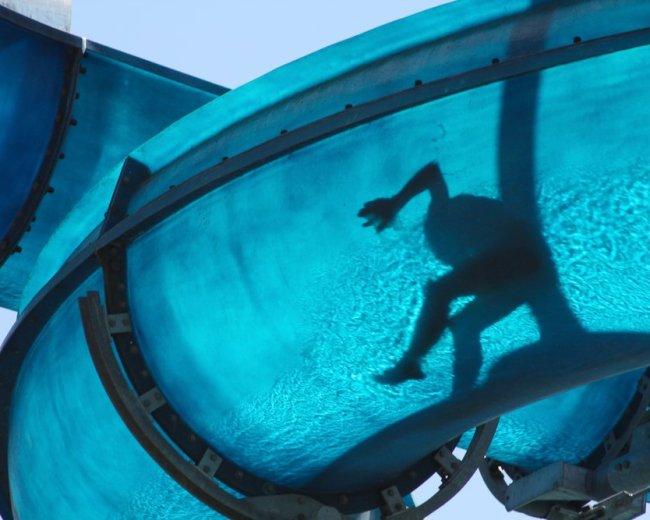 water chute