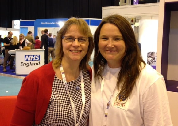 Sarah Chapman and Teresa Chinn EHILive2015