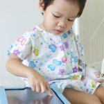 Boy In Hospital With Tablet