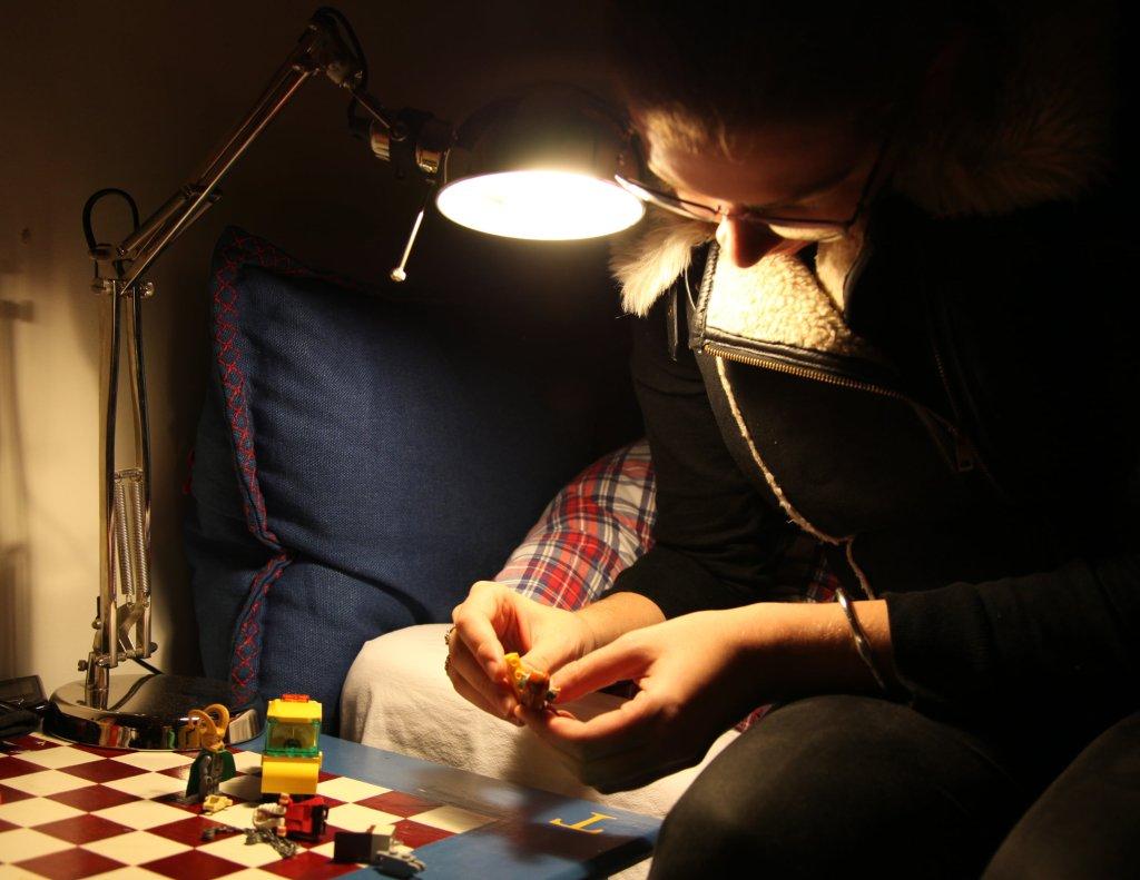 lego in the dark