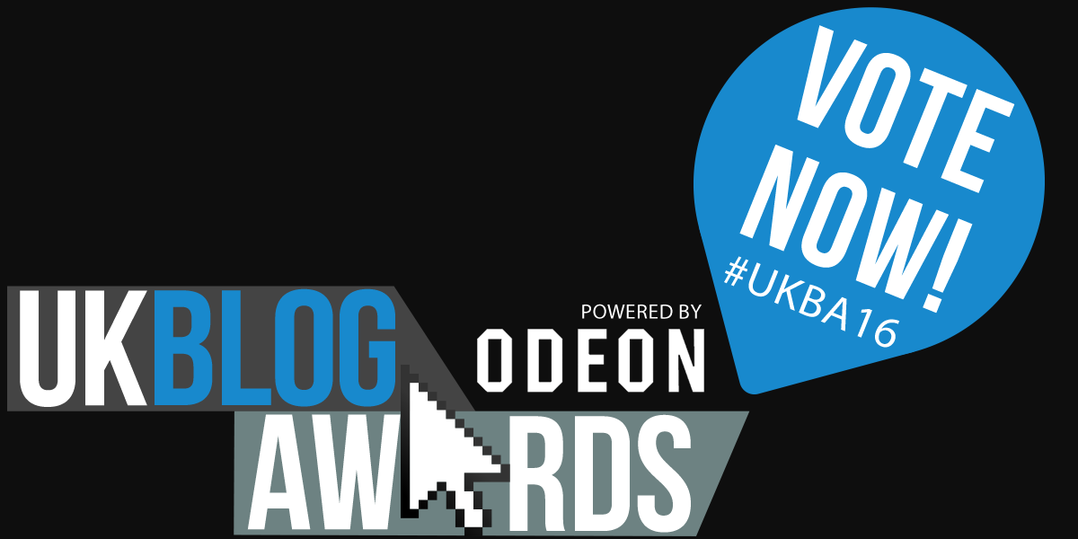 Vote now - UK Blog Awards