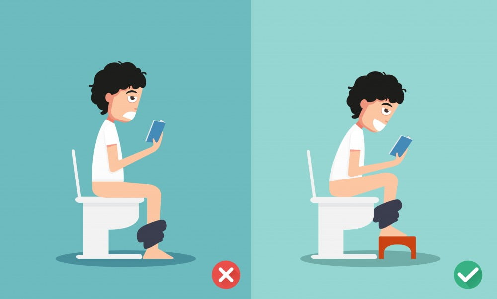 Easing the strain: put your feet up for constipation