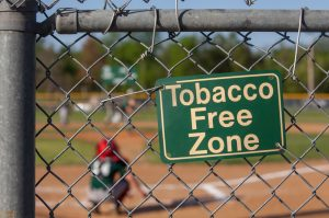 Tobacco free zone one