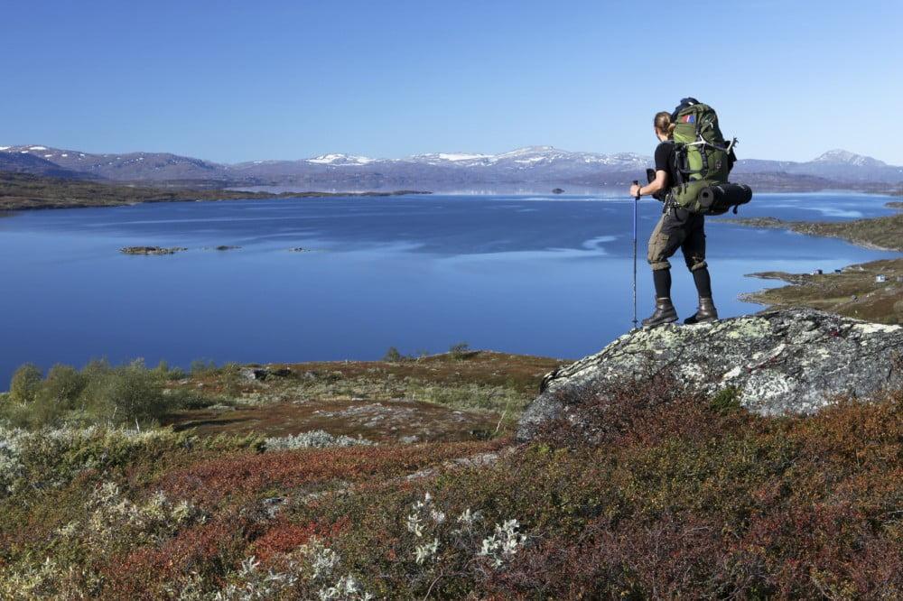Lapland hiker