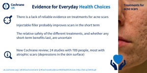 Acne scars blogshot #EEHealthChoices
