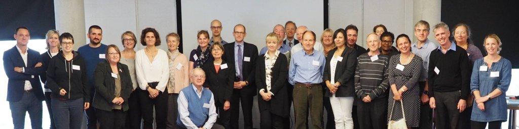 Participants at the final workshop