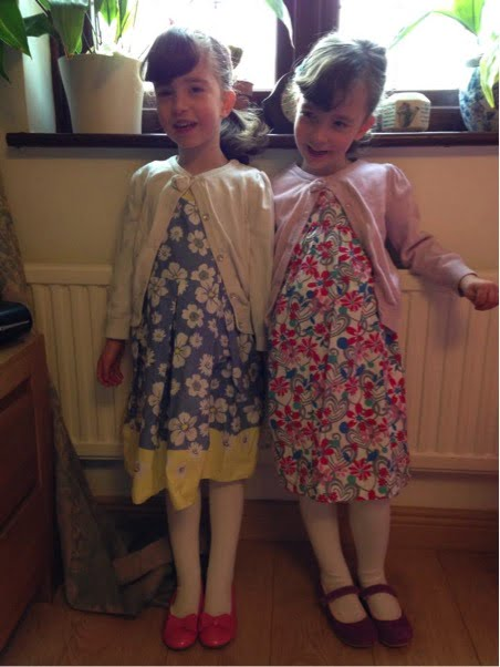 Sutherland twins age 4.5