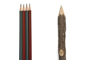 Two different types of pencils