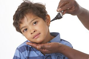 Ear Exam in child