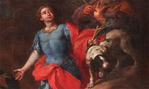 Saint Vitus by Guglielmo Borremans (1670-1744) [Public domain], via Wikimedia Commons