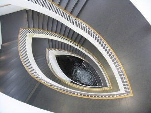 Staircase looks like a vagina