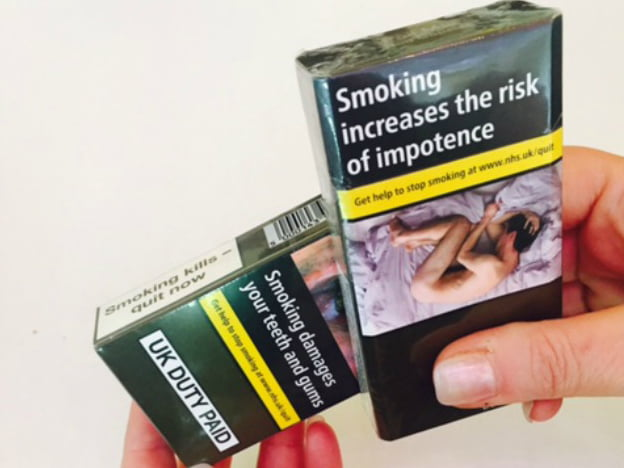 standardised tobacco package