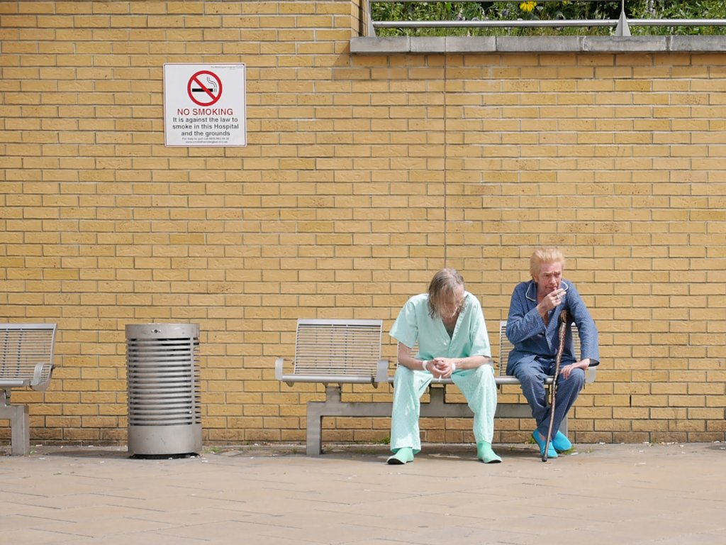 Hospital Patients Smoking