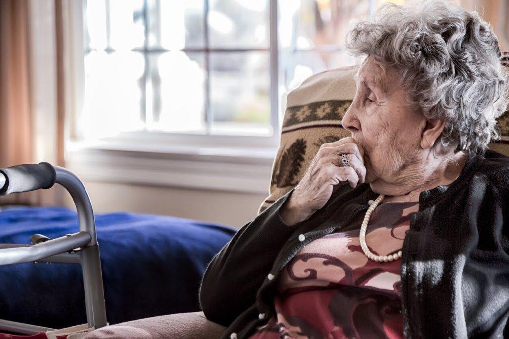 Elderly Woman with dementia on rivstigmine
