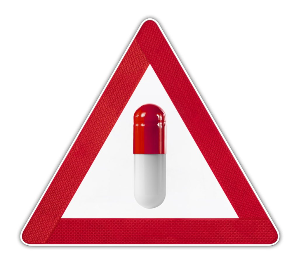 Capsule Warning Sign