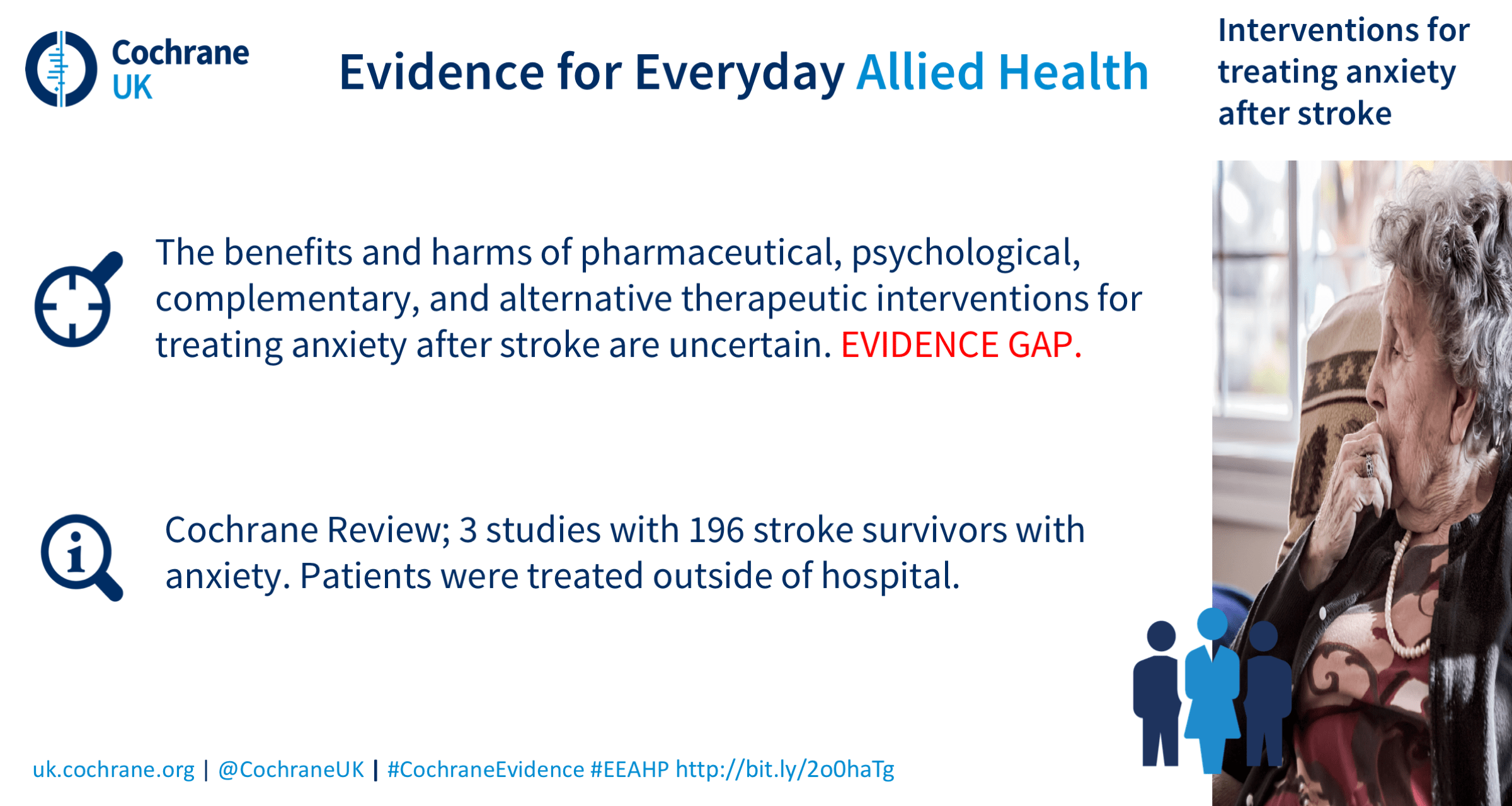 Life After Stroke: a round up of Cochrane evidence