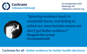 "Margaret McCartney quote: ""Ignoring evidence leads to avoidable harm, and failing to admit our uncertainties means we don't get better evidence"""