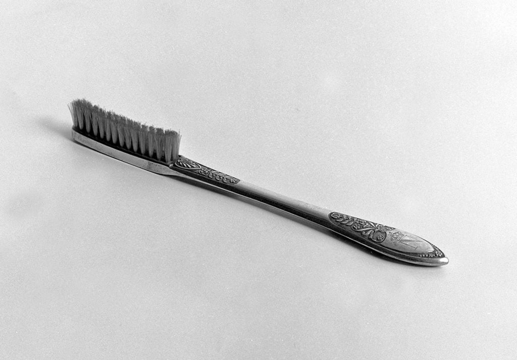Napoleon Bonaparte's toothbrush. Wellcome Collection