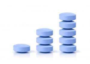 Business profit on pills