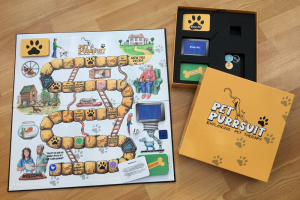 Pet Purrsuit! board game