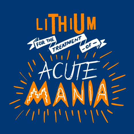 Lithium for the treatment of acute mania
