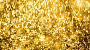 Gold lights